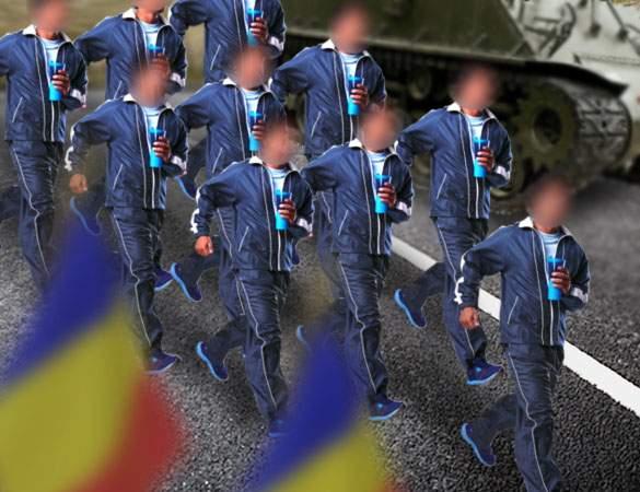 Repetiţii pentru 1 Decembrie! Militarii vor defila în trening pentru că uniformele sunt la spălat