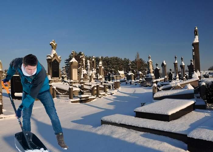 Dragnea insistă să fie deszăpezite cimitirele: Acolo sunt alegătorii pe care contează USL!