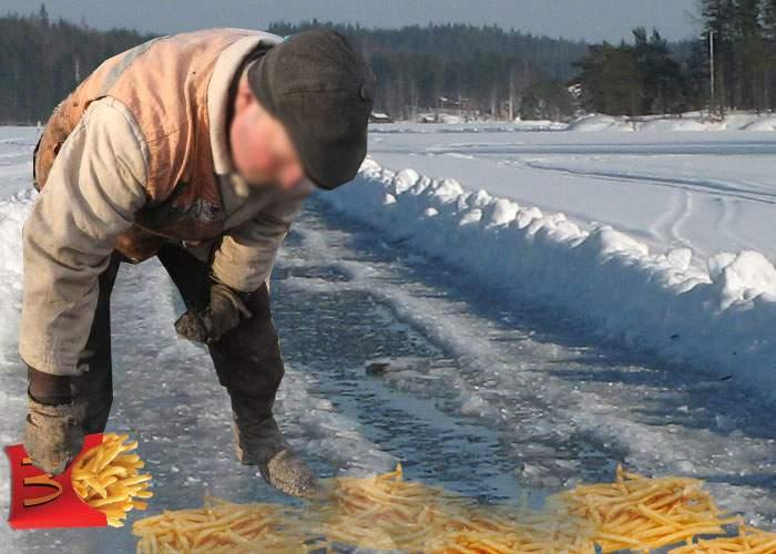 Studiu: Cartofii de la McDonald's sunt mai buni pentru deszăpezire decât sarea obişnuită