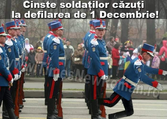 Înfrângere istorică a Armatei Române: Peste 300 de soldați căzuți la defilarea de 1 Decembrie!