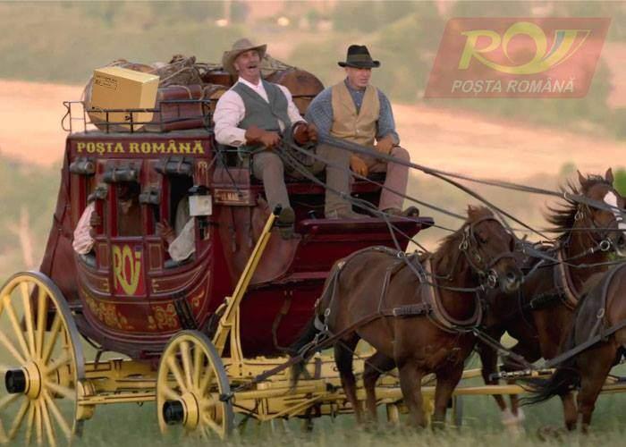 Modernizare. Primul colet plătit cu cardul la Poşta Română a fost deja urcat în diligenţa de Tecuci