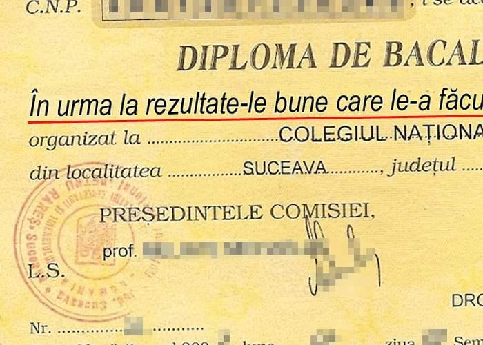 Dezastrul de la Bac ia amploare: diplomele sunt pline de perle şi greşeli gramaticale