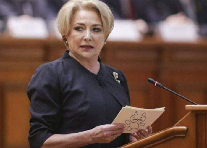 Pentru că acum e preşedintele PSD, Dăncilă trebuie să-şi scrie singură hârtiuţele