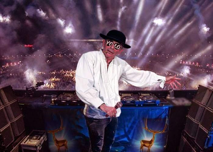 Ca la Untold! DJ Grigore LEȘE va mixa la Cerbul de Aur muzică populară până la răsăritul soarelui