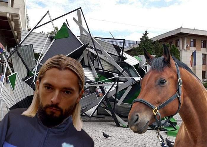 DJ-ul care a pus maneaua la Neversea, prins la furat de fier vechi cu o căruţă