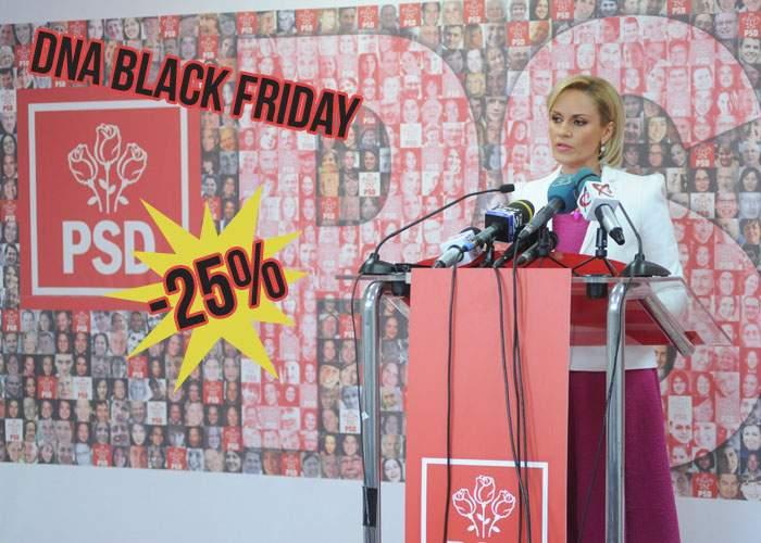 Super-oferta DNA: De Black Friday PSD-ul o să fie cu 25% mai redus