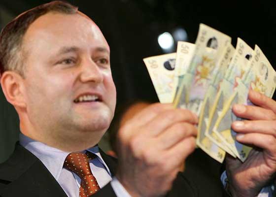 Economia duduie. Pentru prima oară salariul minim din România a depăşit salariul preşedintelui Moldovei