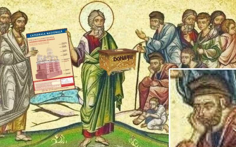 Dovada că Sf. Andrei ne-a creştinat: o inscripţie în care cere bani pentru o catedrală