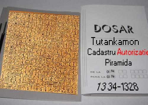 Cercetătorii britanici: Tutankamon a murit aşteptând autorizaţie pentru piramidă