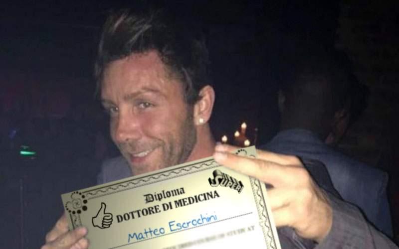 Cât a fost în tren, italianul cu 8 clase a obținut o diplomă de medic de la Spiru Haret