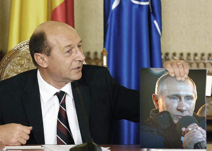 """Traian Băsescu: """"Putin a plâns ca un mare şef de stat. Jos pălăria!"""""""