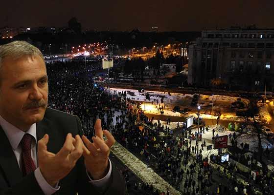 """Dragnea insistă cu grațierea: """"Pușcăriile sunt supra-aglomerate și nu încap cei 100.000 care au protestat"""""""