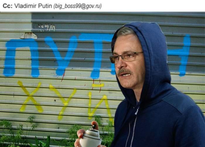 (Cc: Vladimir Putin) Cunoscutul jurnalist Liviu Dragnea a criticat din nou Kremlinul în termeni deosebit de duri