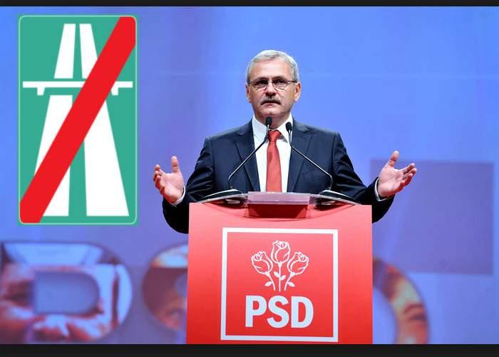 Pentru a preveni alte accidente rutiere, PSD promite că nu va construi autostrăzi