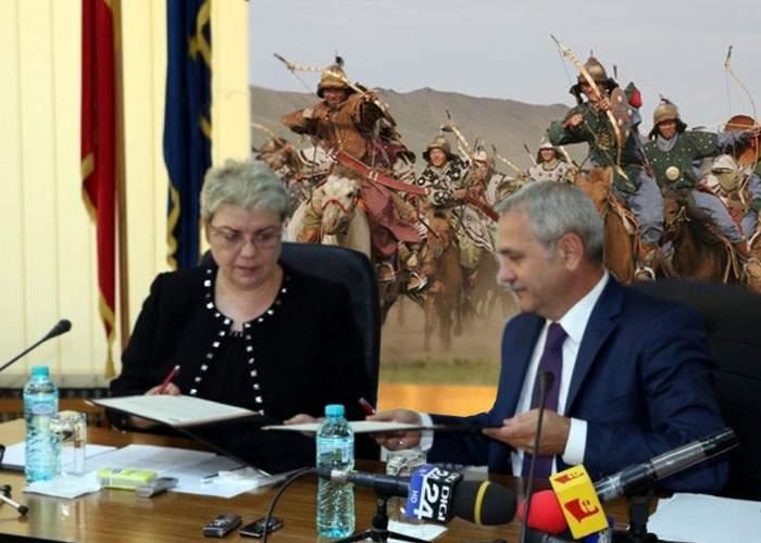 """Dragnea îşi explică alegerea: """"Dacă nici tătarii nu se pricep la jefuit ţara, atunci cine?"""""""