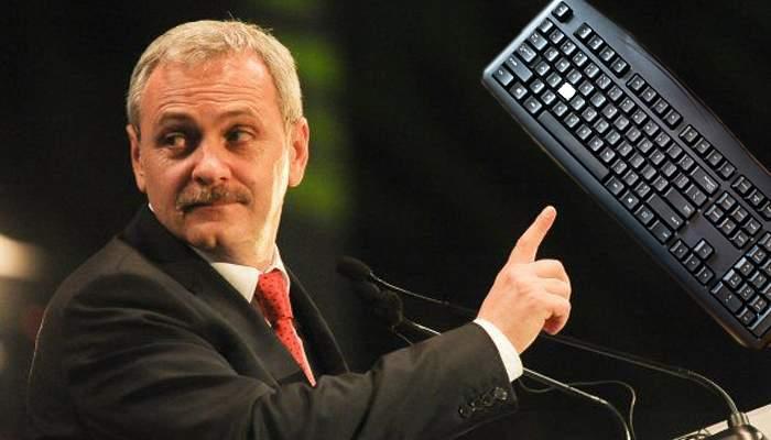 Proiect legislativ. Tastaturile româneşti nu vor mai avea litera D, ca să nu mai scrie jurnaliştii despre Dragnea