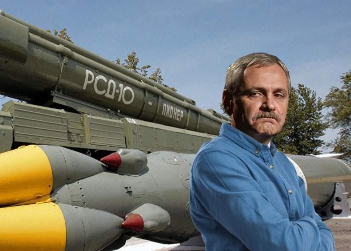 """Dragnea explică de ce are PSD nevoie de o armată paralelă: """"Să putem cumpăra rachete şi de la ruşi!"""""""