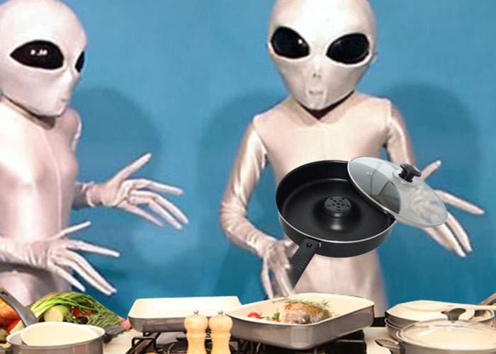 Extratereştrii vin pe Terra, ademeniţi de ofertele incredibile Dry Cooker şi Miracle Blade