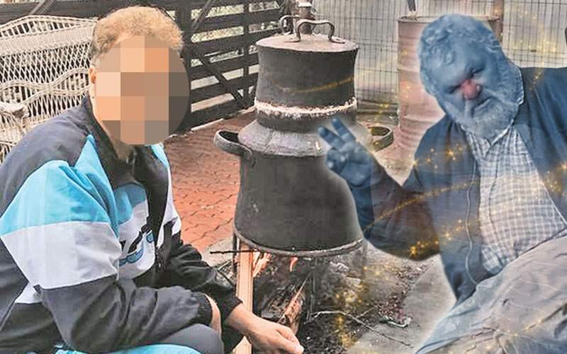 Un român a frecat cazanul de ţuică şi s-a ales cu un duh beţiv care nu face nimic