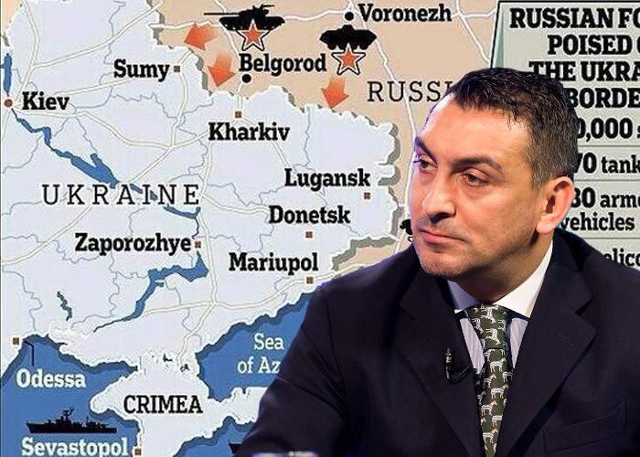 Ilie Dumitrescu a analizat aseară așezarea trupelor rusești la granița cu Ucraina