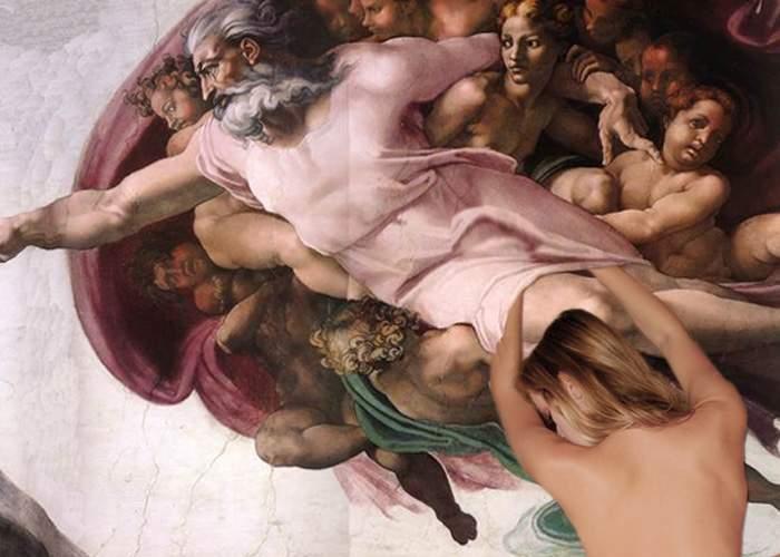 O vedetă de filme pentru adulţi se laudă că l-a prins pe Dumnezeu de al treilea picior