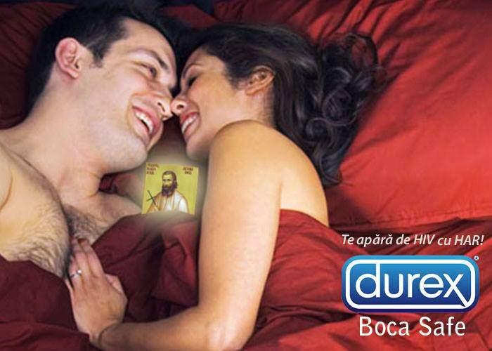 Durex a lansat prezervativele Arsenie Boca, care te protejează și dacă se rup
