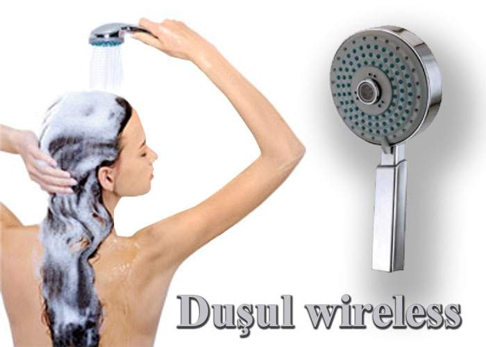 Duşul wireless – invenţia unui român