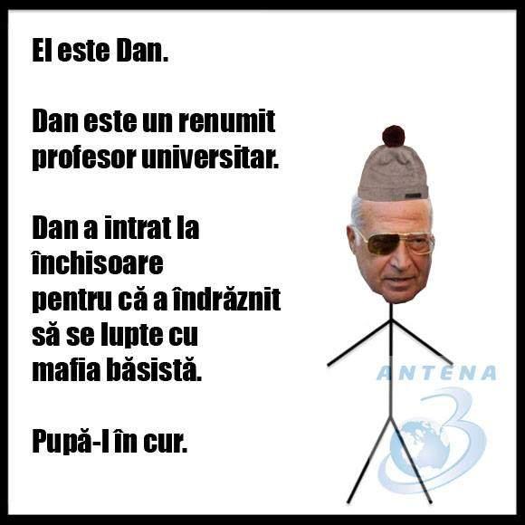 """Poza zilei! Meme-ul cu """"El este Dan"""" care face furori în redacția Antena 3"""