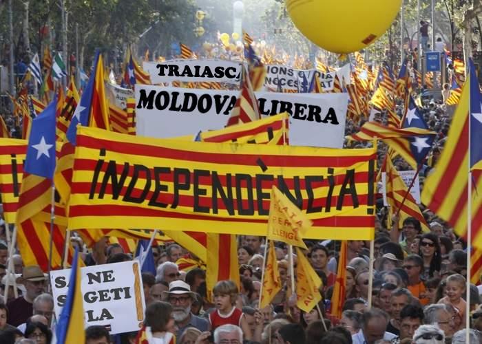 Spania, îngenuncheată. După catalani, au cerut independenţa şi milioanele de moldoveni stabiliţi acolo