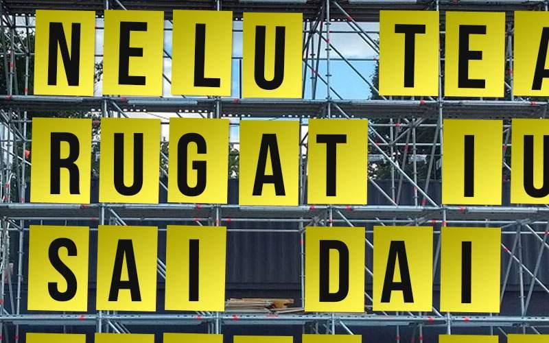 Fotogalerie! 10 mesaje de pe billboard-ul de la Electric Castle