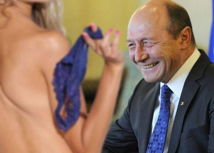 """Băsescu, surprins de Elena Udrea: """"Eu i-am luat sutienul de atâtea ori, nu s-a plâns niciodată"""""""