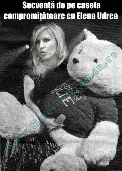 Exclusiv! Imagini compromiţătoare cu Elena Udrea aflate pe caseta deţinută de Dan Diaconescu