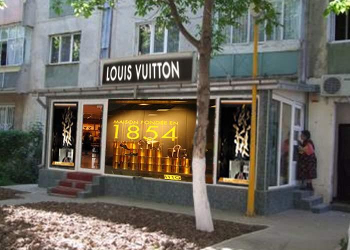 Louis Vuitton şi-a deschis reprezentanţă la parterul blocului din Roman unde s-a mutat Elena Udrea