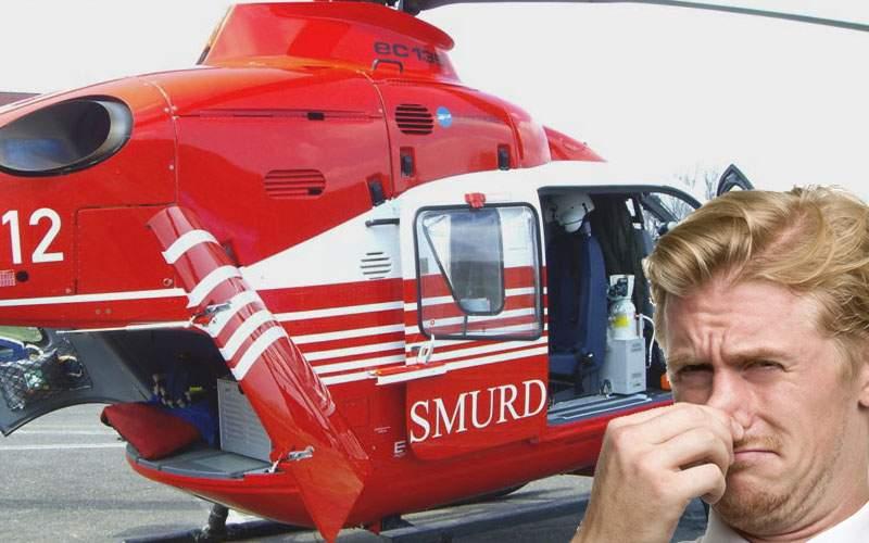 Pesedistul cu diaree explică de ce a luat elicopterul SMURD: Doar nu-l murdăream pe al meu!