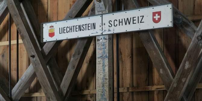 Oamenii din Liechtenstein, nevoiţi să treacă în Elveţia ca să aibă un metru între ei