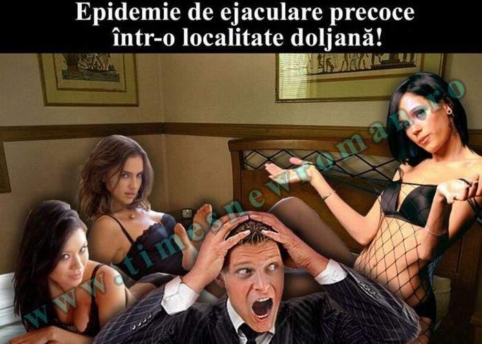 Epidemie de ejaculare precoce într-o comună doljeană