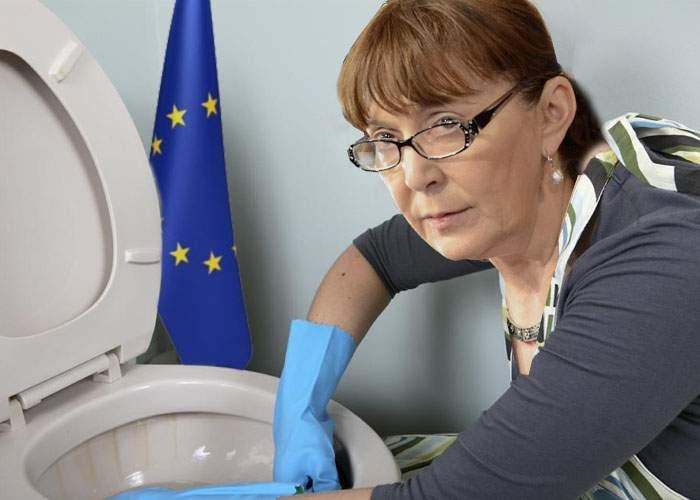 Europarlamentarii români şi bulgari vor avea atribuţii extinse: Vor face şi curăţenie la budă