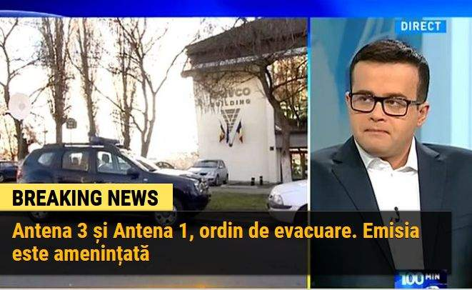 10 incidente din timpul evacuării Antenelor din sediile lui Voiculescu