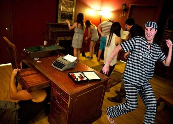 Un deţinut a evadat în mai puţin de o oră din puşcărie, după ce a crezut că e într-un escape room