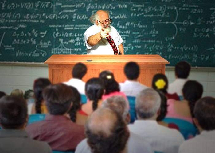 Cruzime fără margini! Un profesor de matematică a chemat părinții la ședință și le-a dat extemporal