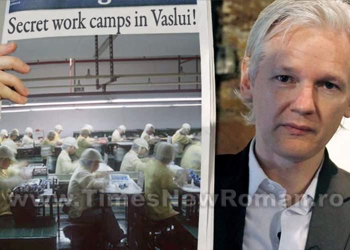 """Wikileaks: """"În judeţul Vaslui există fabrici secrete unde se munceşte pe ascuns!"""""""