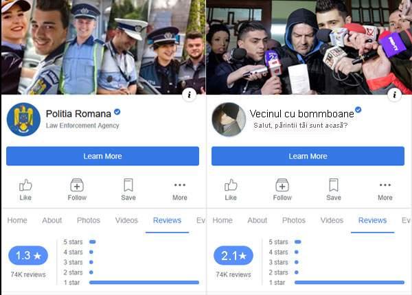 În urma raidului de ieri polițistul pedofil din lift are rating mai bun decât Poliția Română