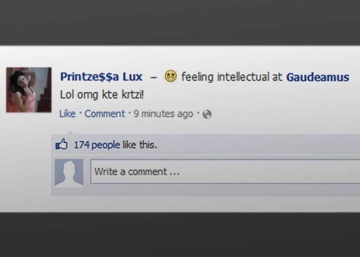 Un român s-a întors la Gaudeamus, după ce la prima vizită a uitat să dea Check In pe Facebook