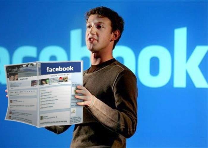 Facebook va fi disponibil şi în versiunea tipărită, pentru cei fără acces la Internet
