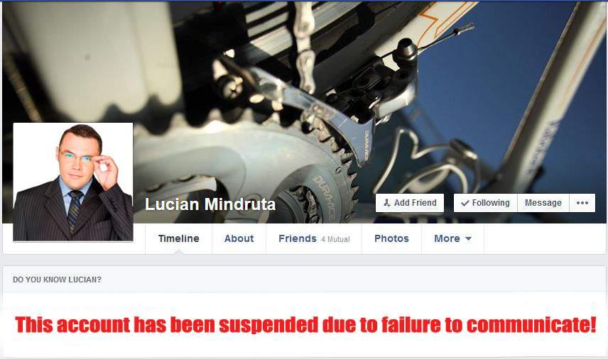 Cad capete după înscrierea masivă la ora de religie! Zuckerberg i-a închis contul lui Mîndruță