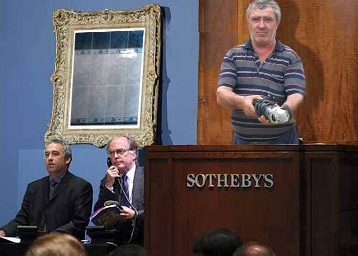 Un perete cu faianţă semnat Dedeman, vândut cu 7 milioane dolari la Sotheby's