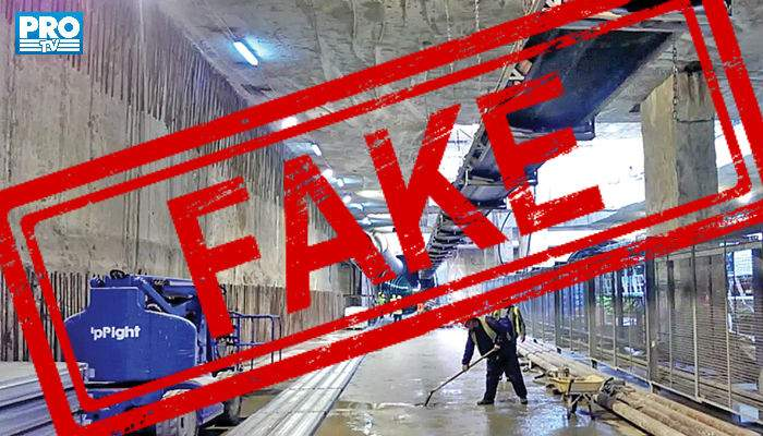 După Antene şi RTV, şi ProTV s-a apucat de fake news. A dat un reportaj cu metroul din Drumul Taberei!