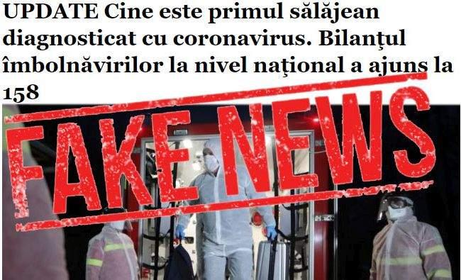 Atenție la fake news-ul cu primul caz de coronavirus în Sălaj! Sălajul nu există