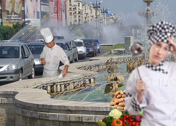 Canicula atinge cote incredibile în Capitală: Localnicii fierb gaini şi ouă în fântânile arteziene