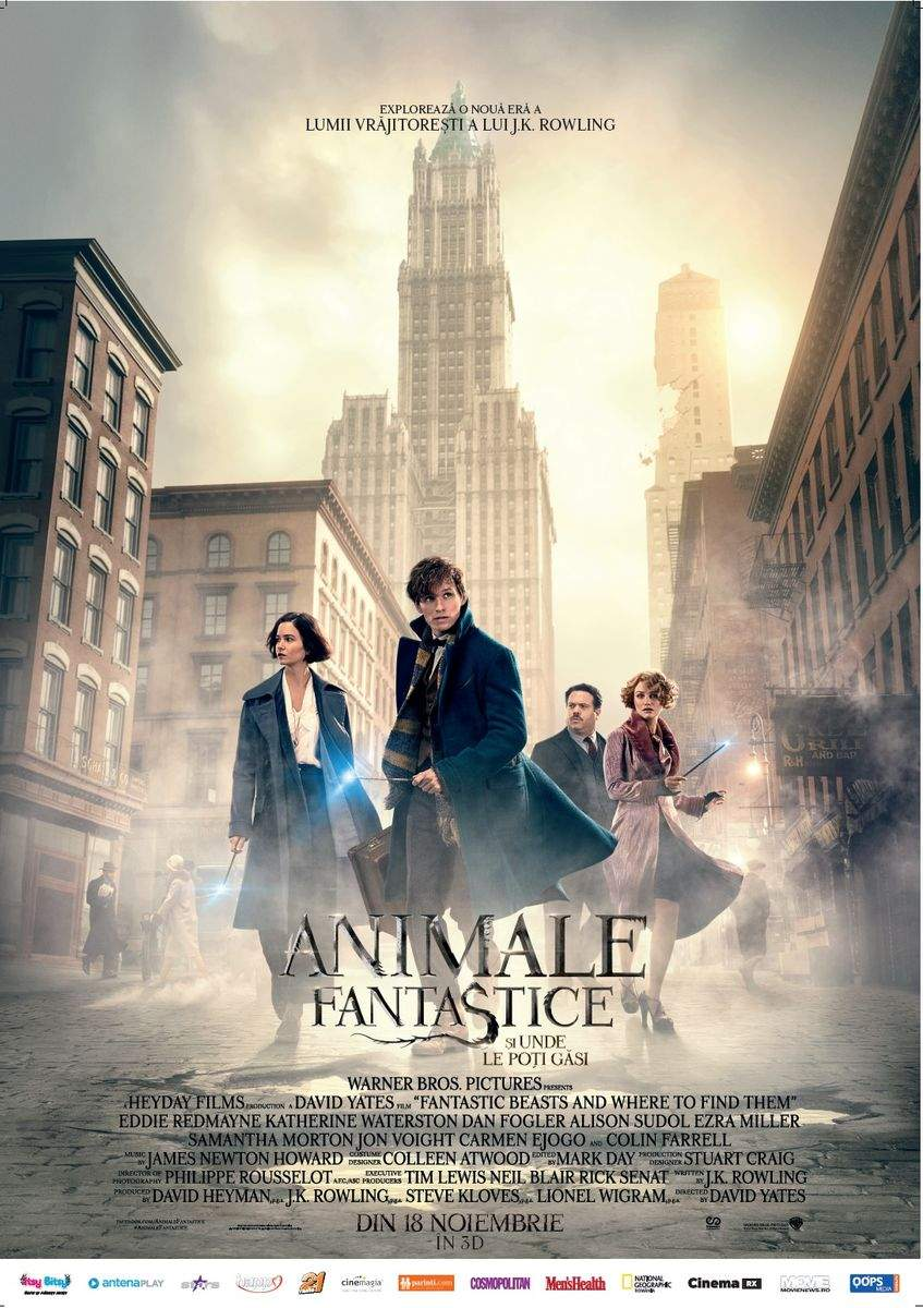 Fantastic Beasts and Where to Find Them 3D (2016) – Magie. Punct